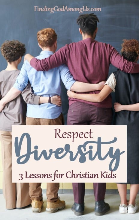 Use these lessons to teach Christian children to respect diversity. Racial diversity and racial unity are the current hot topics, but respecting diversity is necessary for many other reasons as well