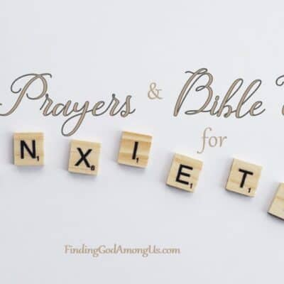 10 Short Prayers and Bible Verses for Anxiety fimage