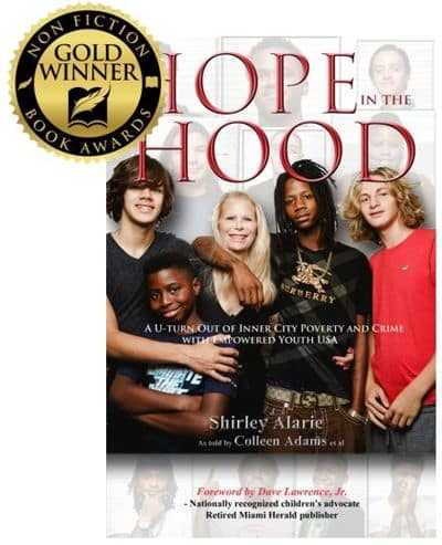 Hope in the Hood by Shirley Alarie book cover