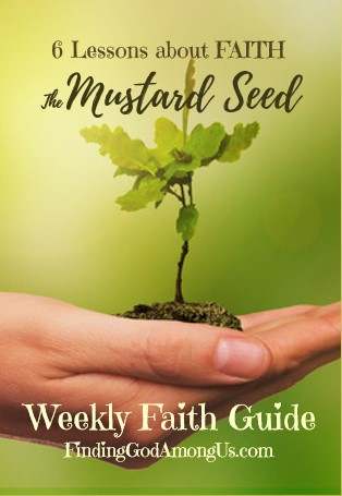 Mustard Seed Parable Printable Pocket Booklet
